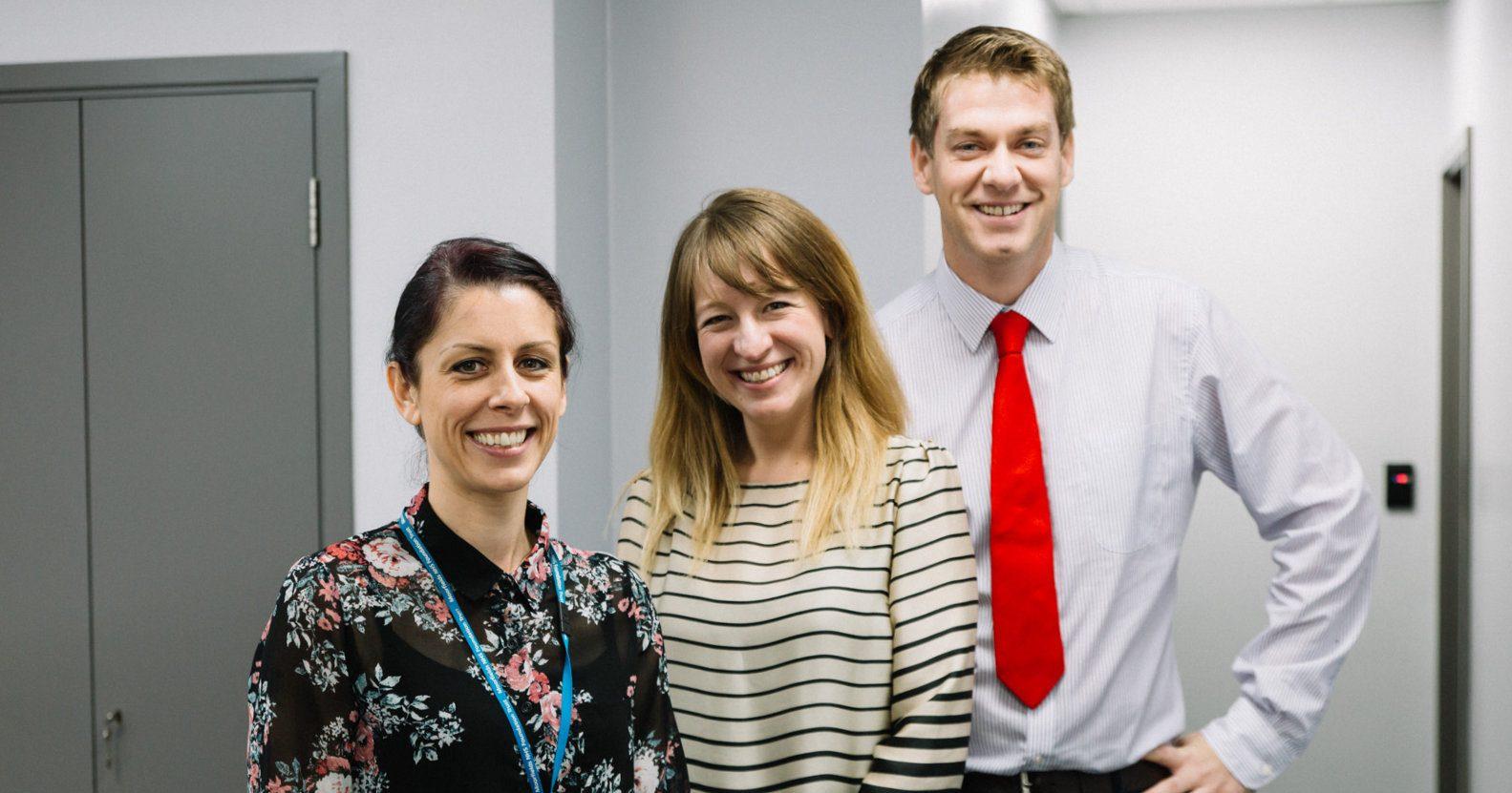 David Gartry's team at Moorfields Eye Hospital