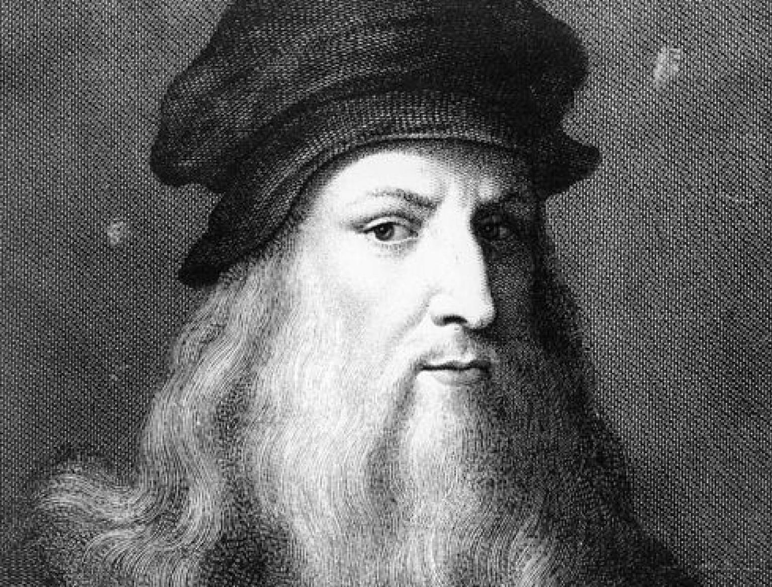 Leonardo Da Vinci had theories about eye surgery
