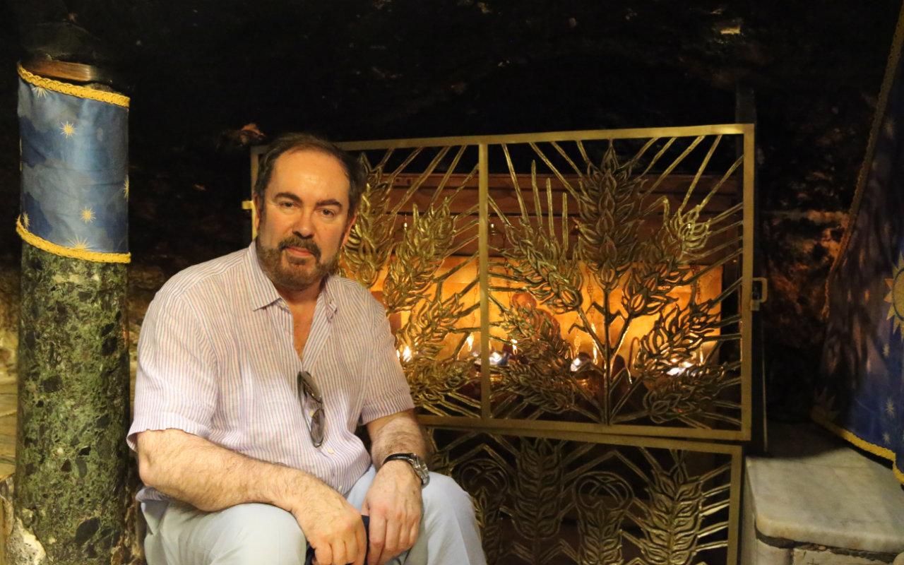 David Gartry visit Jerusalem
